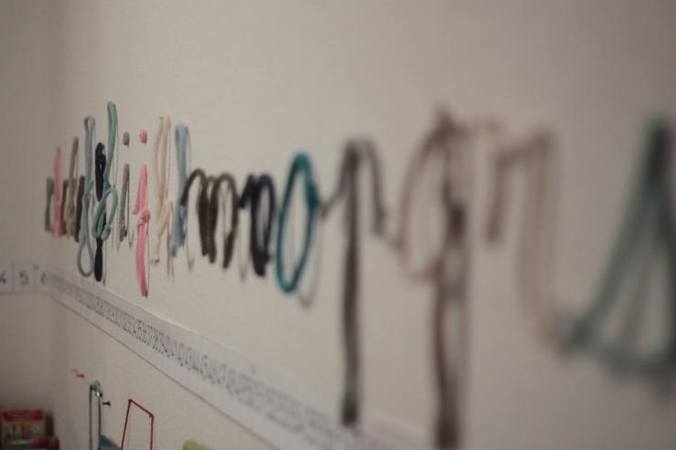 alphabet tricotin mot enlainé