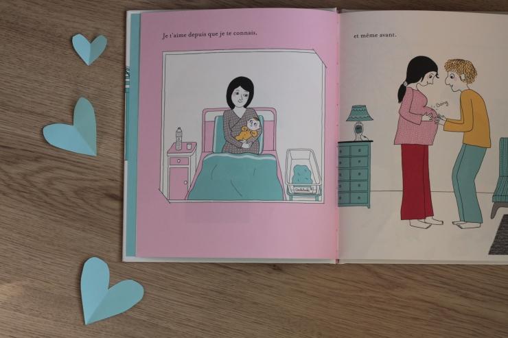 livre enfant jeunesse mon amour